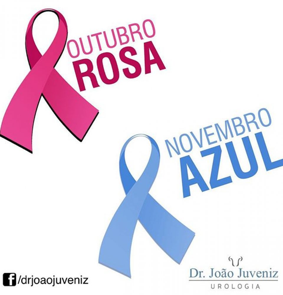 Outubro Rosa e Novembro Azul Dr Jo u00e3o Juveniz -> Decoração De Outubro Rosa E Novembro Azul